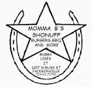 Momma B's Shonuff Burgers, BBQ and More