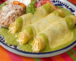 Flaming Caesar Mexican Food