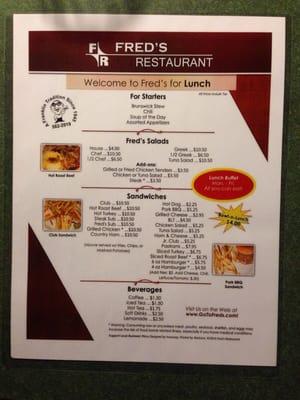 Fred's Restaurant