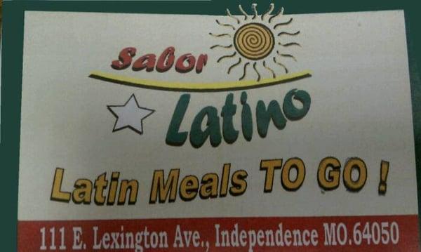 Sabor Latino Meals