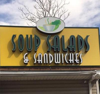 Soup, Salad, Sandwiches