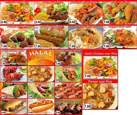 Daily Fresh Halal Food