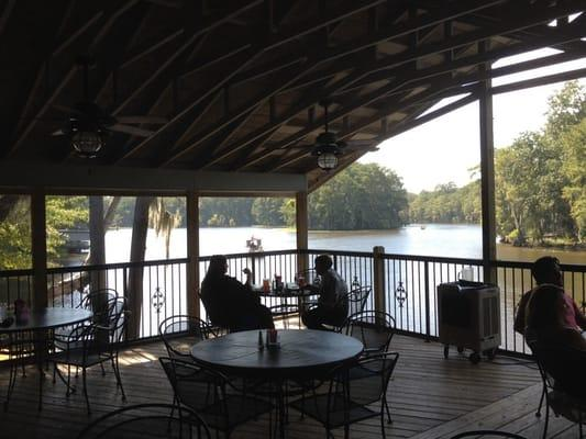 River Bend Restaurant on Caddo Lake