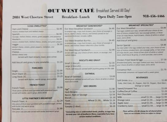 Out West Cafe