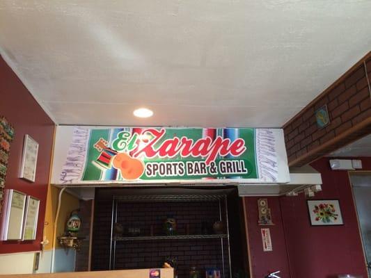 Mi Zarape Sports Bar and Grill Restaurant LLC