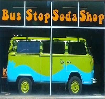 Bus Stop Soda Shop