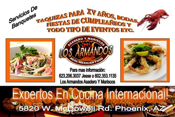 Los Armandos Asadero Y Mariscos Real Mexican Food