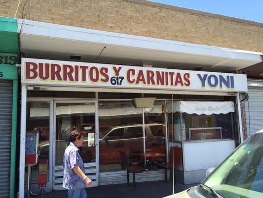 Burritos y Carnitas Yoni