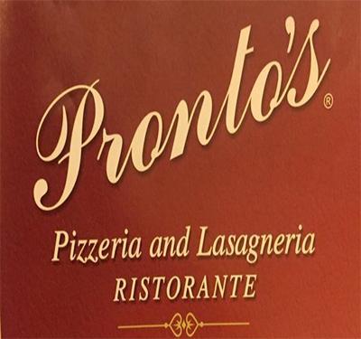 Pronto's Pizzeria and Lasagneria Ristorante