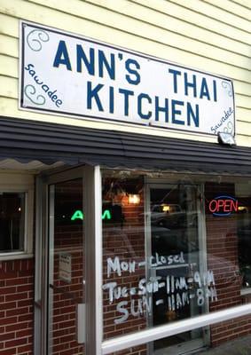 Ann's Thai Kitchen