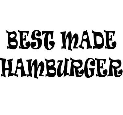 Best Made Hamburgers