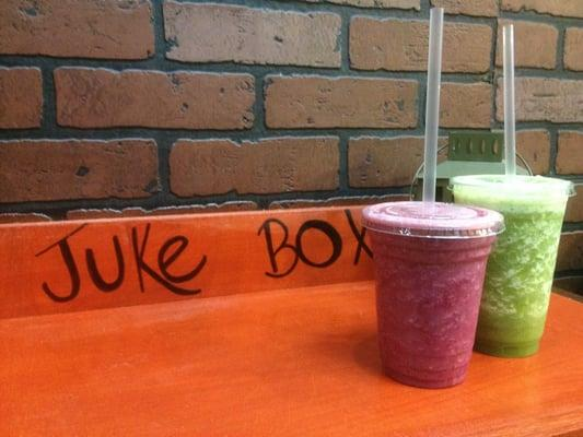 Juke Box Juice & Salad