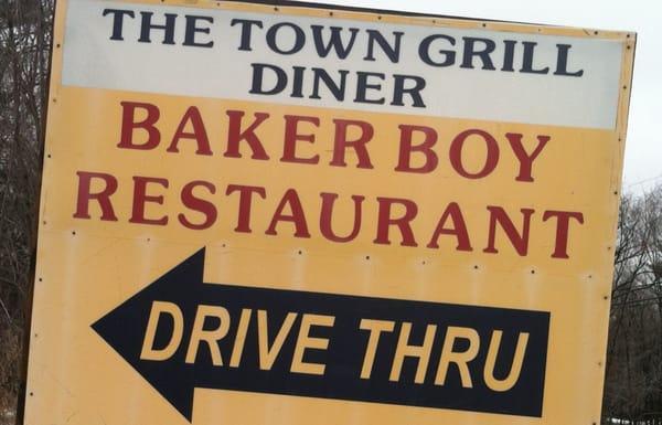 Baker Boy Town Grill Diner