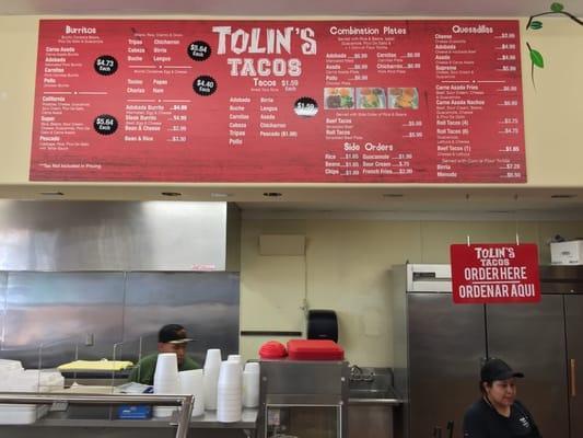 Tolin's Tacos 1