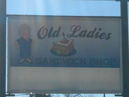 Old Lady Sandwich Shop