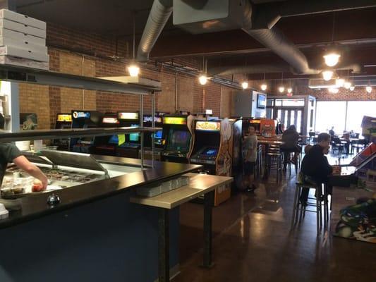 Quarter Barrel Arcade & Brewery
