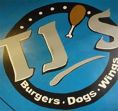 TJ'S Burgers Dogs and Wings