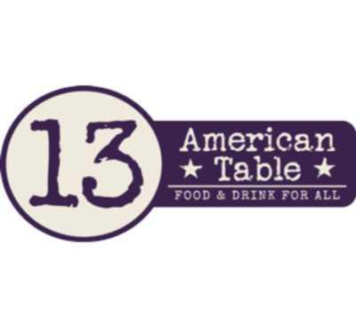 13 American Table