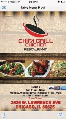 Chifa Grill Chicken
