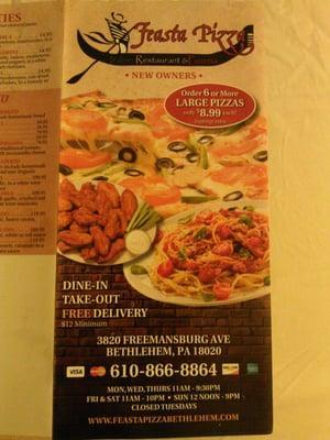 Feasta Pizza III