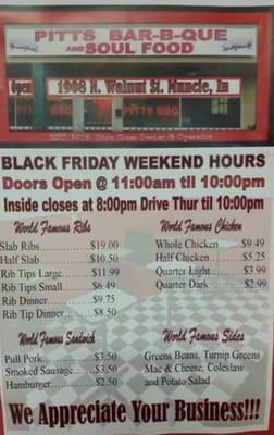 Pitt's BBQ & Soul Food