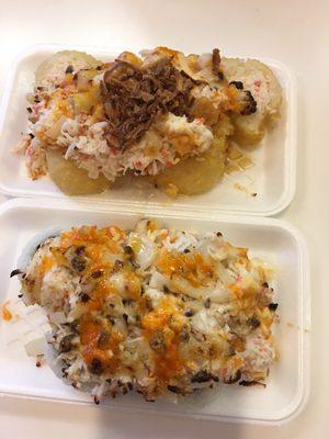 Honey Roll and Sushi