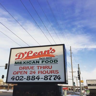 D Leons Mexican Food