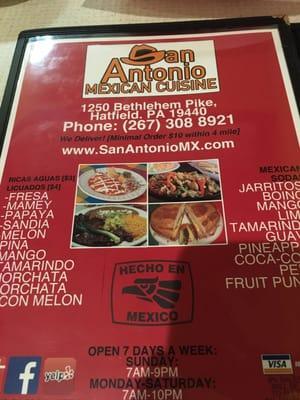 San Antonio Mexican Cuisine