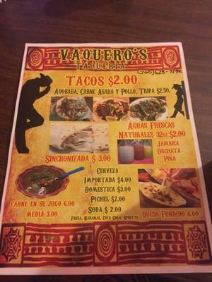 Vaquero's Taqueria
