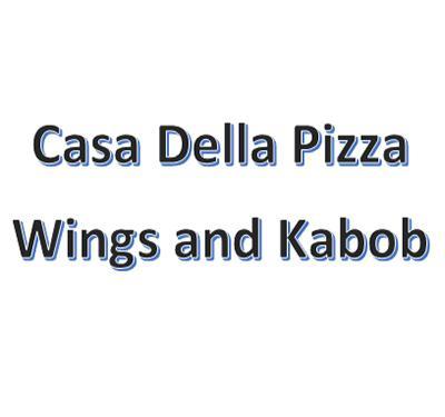 Casa Della Pizza Wings and Kabob