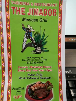 The Jimador Mexican Grill