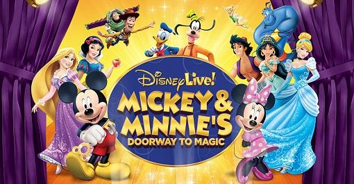Disney Live! Mickey & Minnie's Doorway to Magic at UNO Lakefront Arena