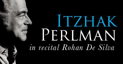 Itzhak Perlman with Pianist Rohan De Silva at Overture Center for the Arts