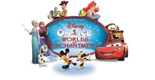 Disney on Ice presents Worlds of Enchantment at Spokane Arena