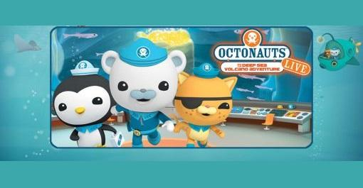 Octonauts Live! at The Riverside Theater