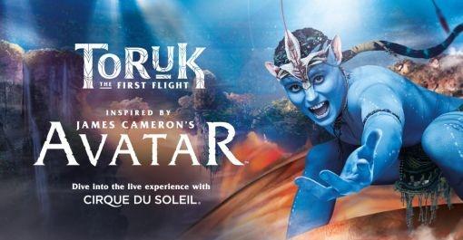 Cirque Du Soleil TORUK at Valley View Casino Center