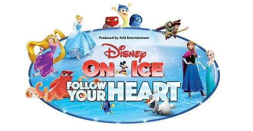 Disney On Ice presents Follow Your Heart at EagleBank Arena