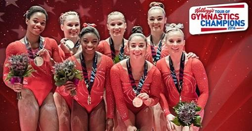 Kellogg's Tour of Gymnastic Champions at Barclays Center