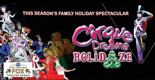 Cirque Dreams Holidaze at Fox Theatre