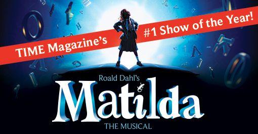 Matilda at the Providence Performing Arts Center