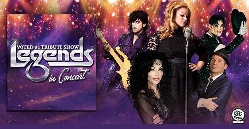 Legends in Concert at Flamingo Hotel & Casino