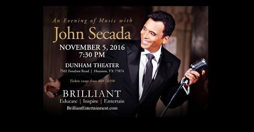 John Secada at Dunham Theater