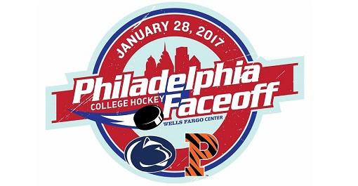 Philadelphia College Hockey Faceoff at Wells Fargo Center