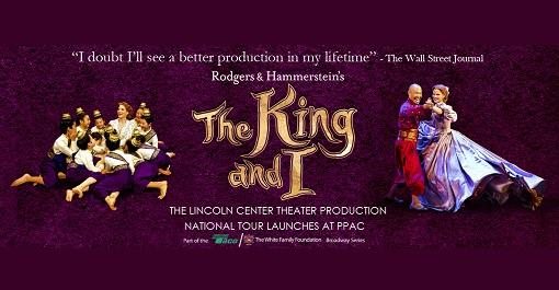 The King & I at Providence Performing Arts Center