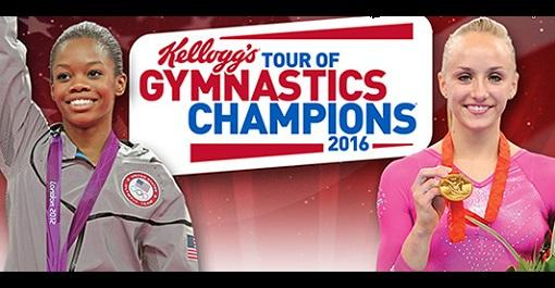 Kellogg's Tour of Gymnastic Champions at Bankers Life Fieldhouse