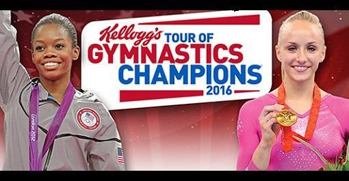 Kellogg's Tour of Gymnastic Champions at XL Center