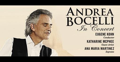 Andrea Bocelli at Frank Erwin Center