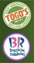 Togo's & Baskin Robbins in Anaheim