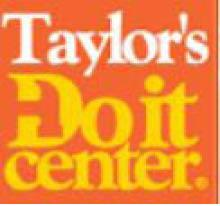 TAYLOR'S DO IT CENTER