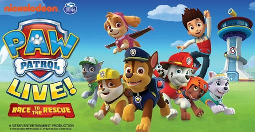 Paw Patrol Live! at Merriam Theater